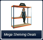 Mega Shelving Deals